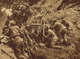 Mitraglieri austriaci sul fronte italiano