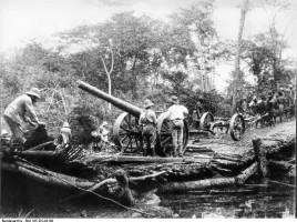 Deutsch-Ostafrika, Artillerie