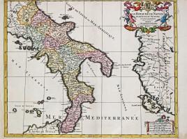 Regno Napoli map