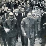 Pinochet e i membri della giunta militare cilena nel 1975 - Biblioteca del Congreso Nacional