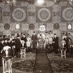 Re Fuad I e la sua corte