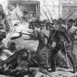 L'esercito inglese reprime l'insurrezione ad Alessandria, luglio 1882