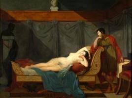 Il sonno di Venere, 1802, di Guillaume Guillon Lethière