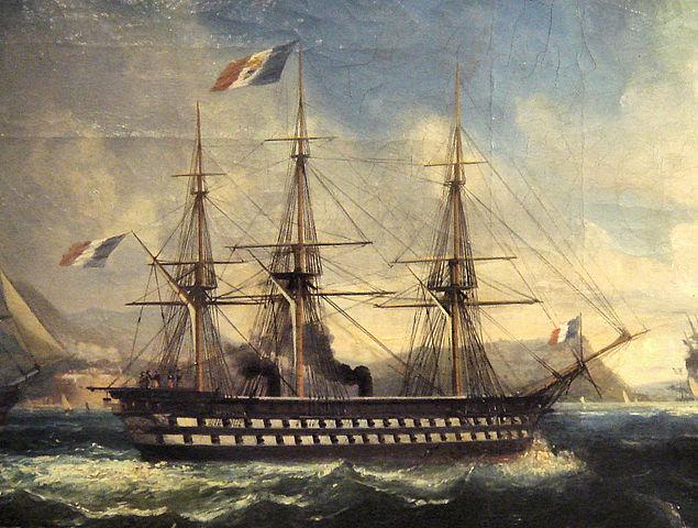 ll Napoleon davanti a Tolone nel 1852