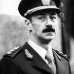 Il presidente della giunta militare argentina Jorge Rafael Videla