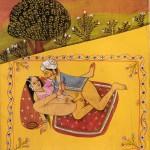 Miniatura tratta da una edizione del XIX secolo del Kamasutra