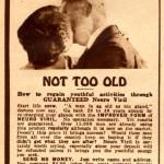 """Pubblicità di un prodotto """"rinvigorente"""" americano del 1926"""