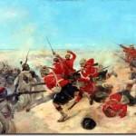 Soldati scozzesi nella battaglia di Tel el Kebir