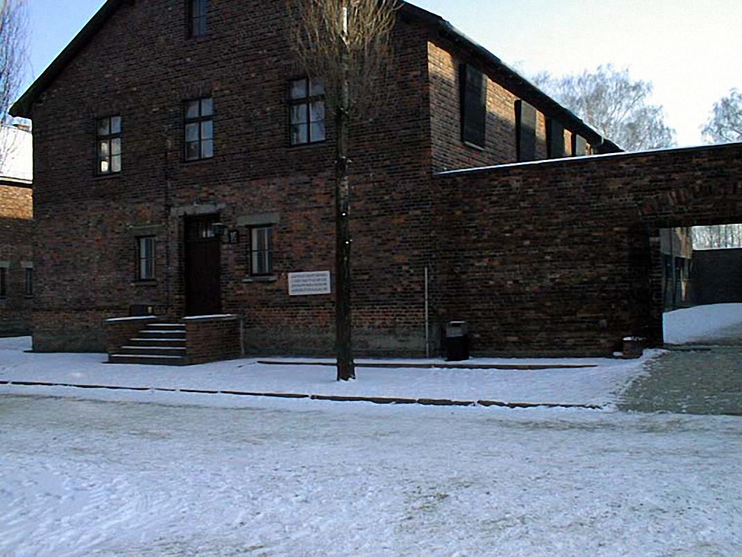 Il Block 10 ad Auschwitz