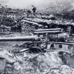 Artiglieria italiana sul Sabotino