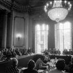I lavori della conferenza, nei primi mesi del 1936