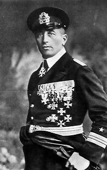 Felix Graf von Luckner, comandante del Seeadler