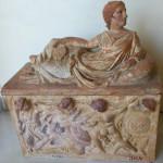 Urna etrusca - G. Dall'Orto