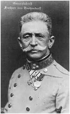 Il feldmaresciallo Conrad von Hötzendorf