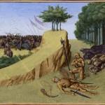 La morte di Rolando in una miniatura del XV secolo