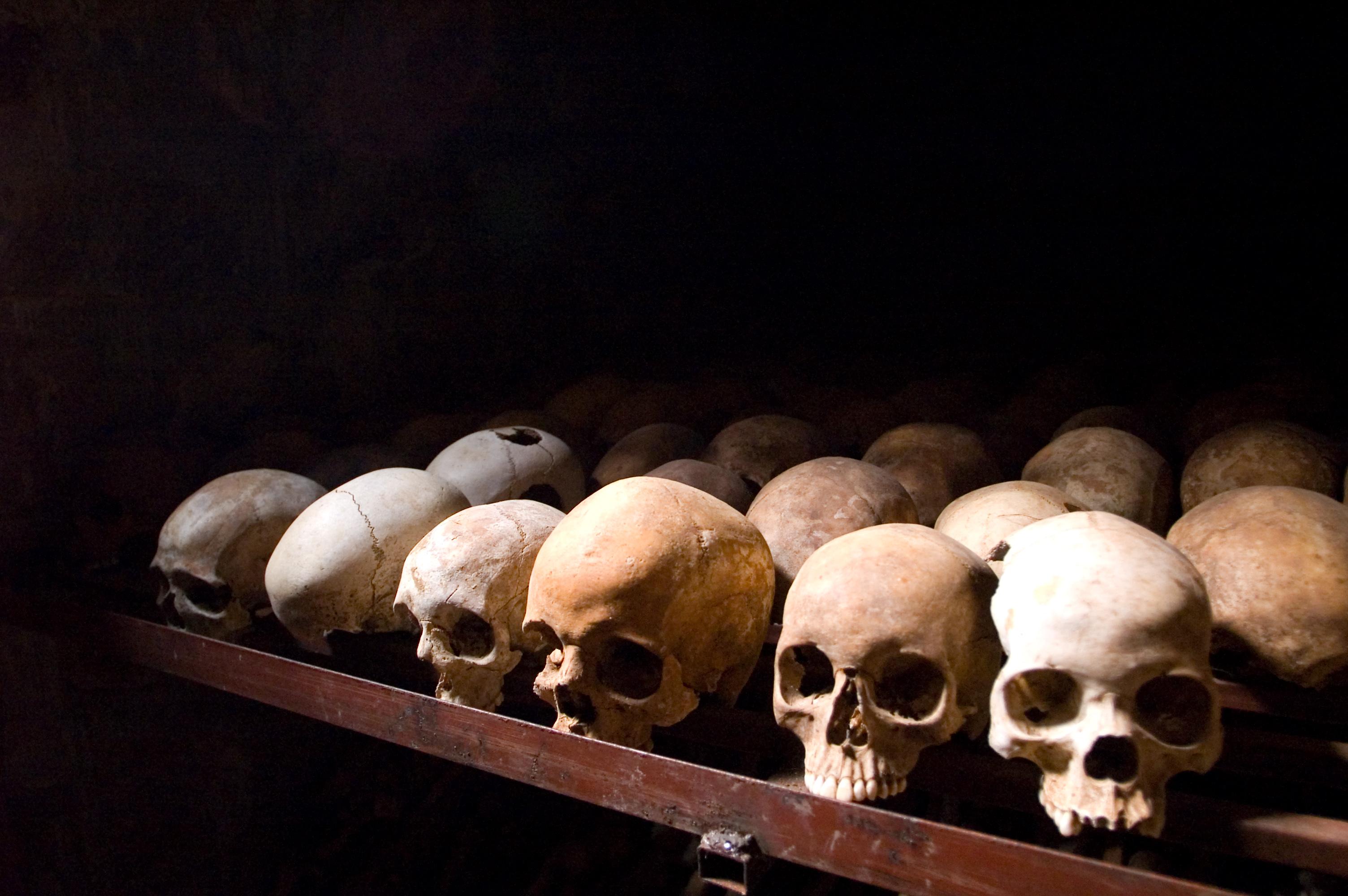 Resti delle vittime nel Nyamata Genocide Memorial - Fanny Schertzer