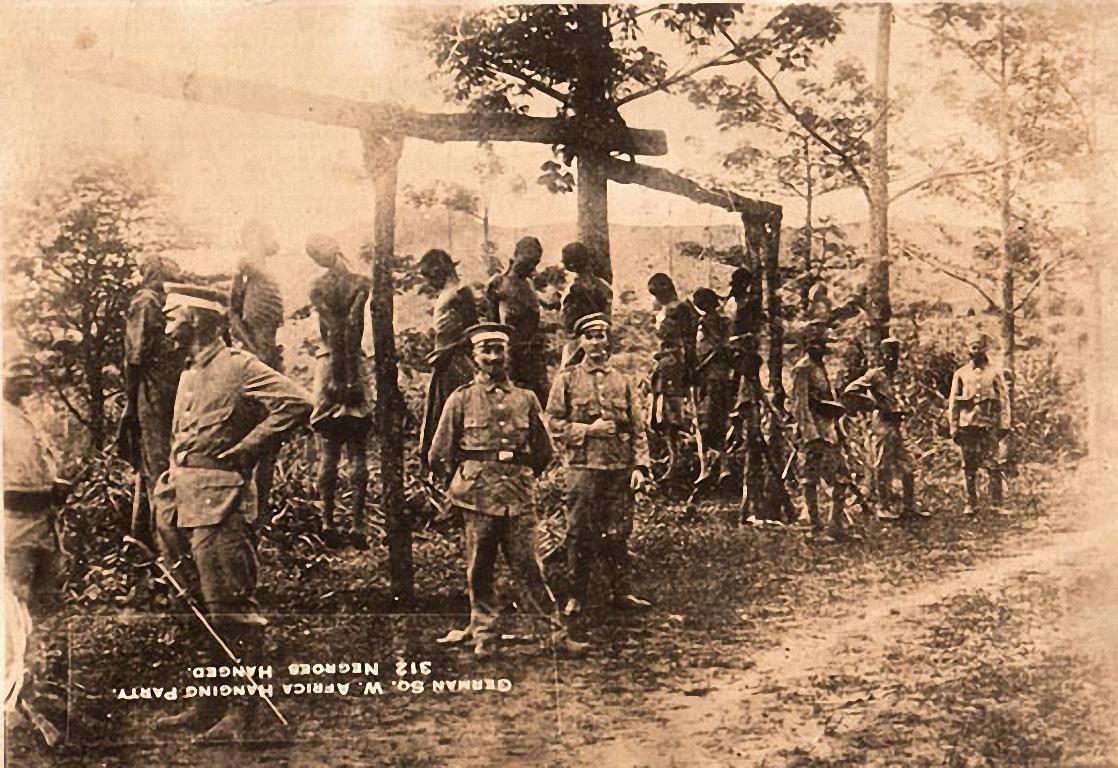 Esecuzione di ribelli Herero