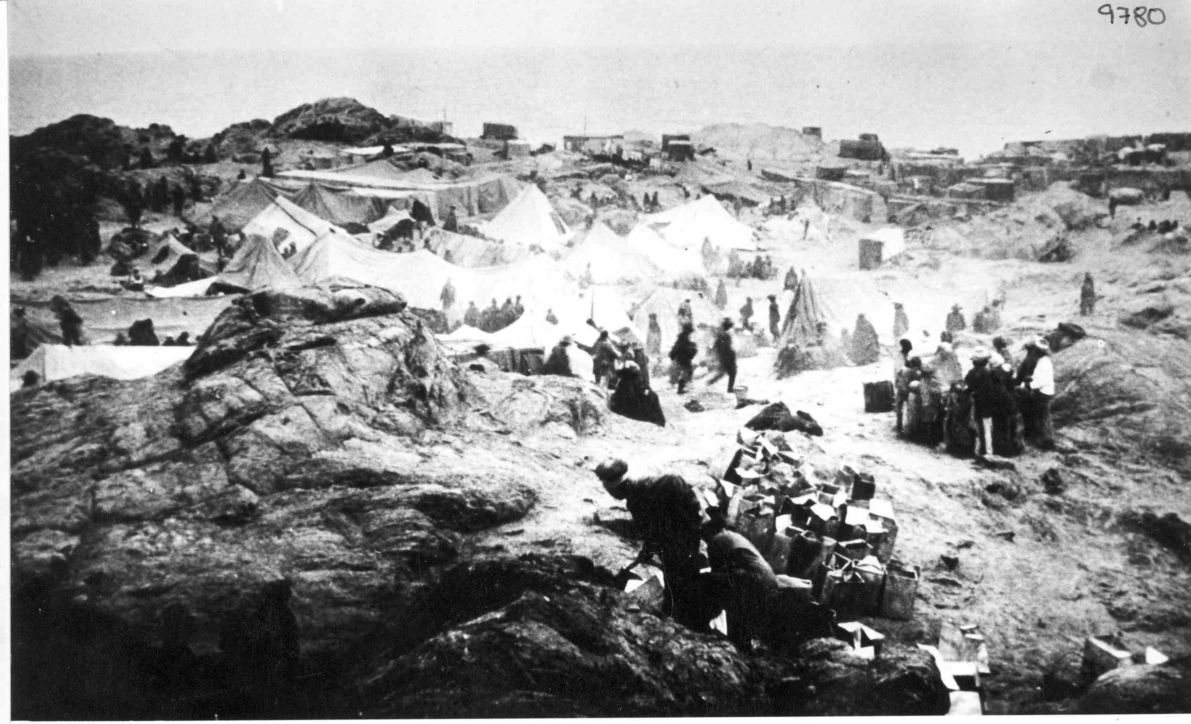 Il campo di Lüderitzbucht