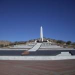 Il monumento Heroes' Acre ai martiri della Namibia