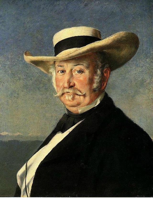 Johann Sutter nel 1866
