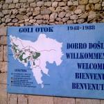 Un cartello per i turisti