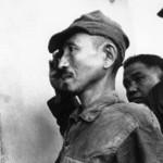 Hiroo Onoda al momento della sua resa, nel 1974,
