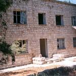 Il primo edificio costruito sull'isola