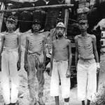 Un gruppo di soldati fantasma dopo la resa