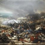 Combattimento a Malakoff l'8 settembre 1855, di Adolphe Yvon