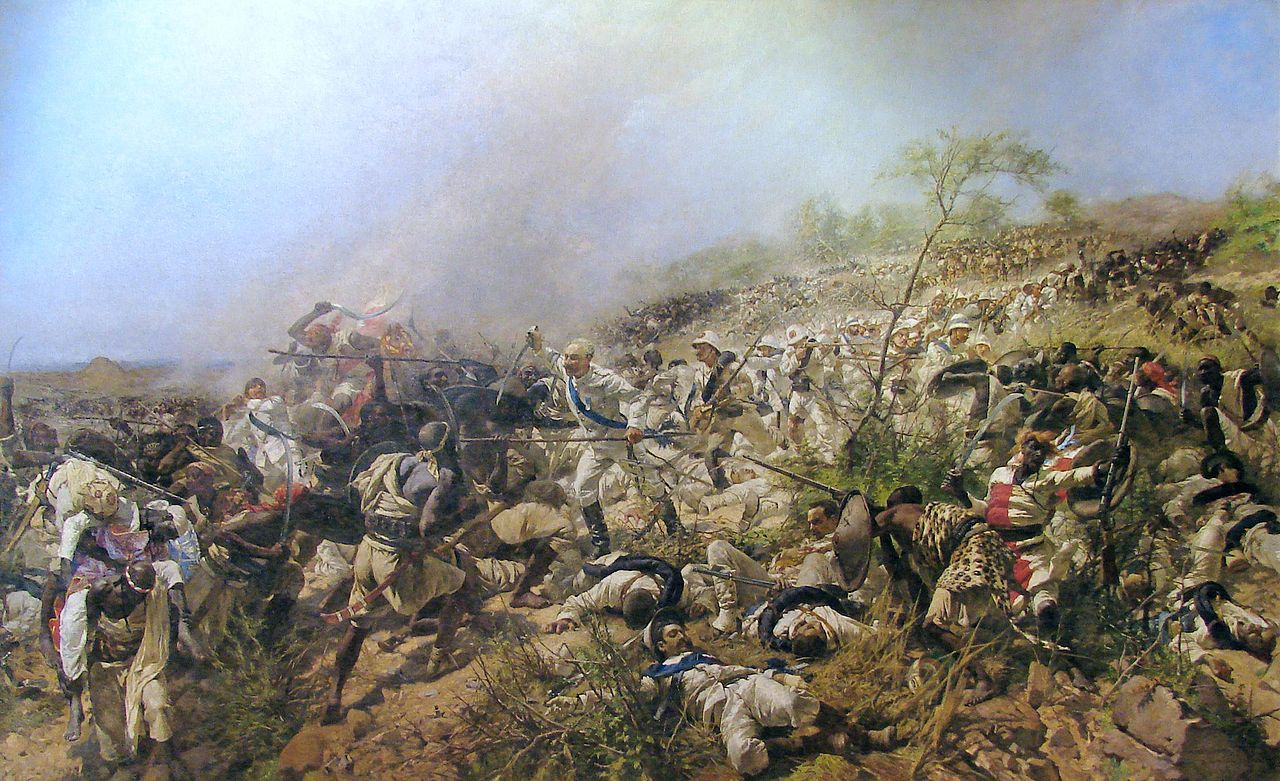La battaglia di Dogali, nel 1887, segnò la fine della prima fase dell'espansione italiana in Africa Orientale