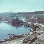 Il porto di Sebastopoli dopo l'assedio nel luglio 1942
