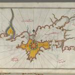 La Crimea e il mar d'Azov in una mappa del XVI secolo