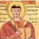 Paolo Diacono in un manoscritto medievale.