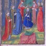 L'elezione del cardinale Luna ad antipapa, come Benedetto XIII, nel 1394