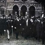 Francesco Saverio Nitti e Vittorio Emanuele III a Torino per il 50° dell'unità, 1911