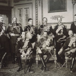 I nove sovrani presenti al funerale di Edoardo VII