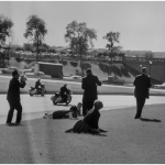 Dealey Plaza pochi istanti dopo l'attentato