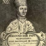 Baldassarre Cossa, eletto antipapa al concilio di Pisa del 1410