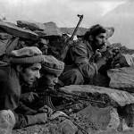 Mujaheddin afghani durante la guerra contro l'URSS