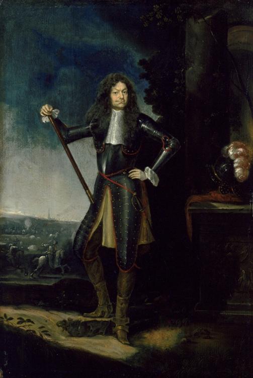 Raimondo Montecuccoli, in un dipinto di Elias Griessler
