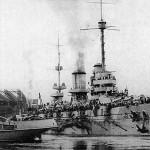 La dreadnought Imperatritsa Mariya nel 1915