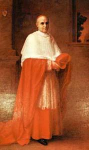 Il cardinale Rafael Merry del Val y Zulueta, segretario di Stato dal 1903 al 1914