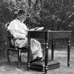 Papa Pio X nei Giardini Vaticani