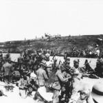 Truppe tedesche in prossimità del fronte