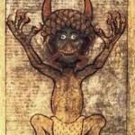 Diavolo, Codex Gigas, sec. XIII, Stoccolma, Biblioteca Nazionale di Svezia
