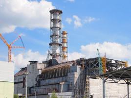 Il sarcofago del reattore 4 - Tiia Monto