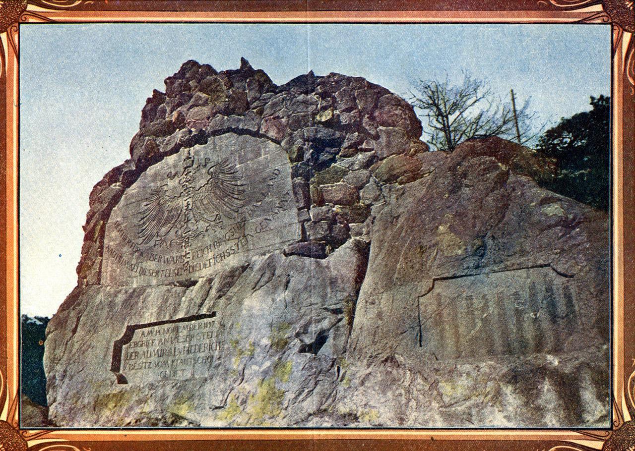 La lapide-monumento Diederichsstein