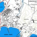 Mappa di Tsingtao nel 1912