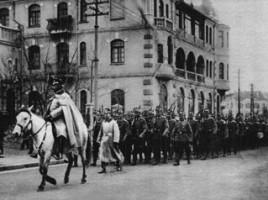 truppe tedesche a Tsingtao