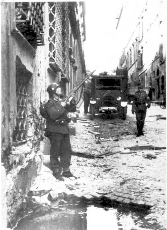 Via Rasella, Roma, 23 marzo 1944.